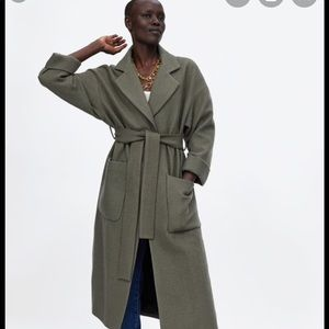 Gorgeous coat by Zara from fall 2018 collection